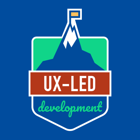 Badge UX-led development